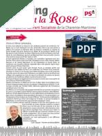 Le Poing Et La Rose - Avril 2016