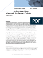 UNC School of Government on Benefits and Costs of Economic Development Projects