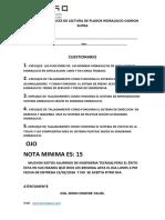 EXAMEN DE ANALICES DE LECTURA DE PLANOS HIDRAULICO PARA SU CASA..pdf