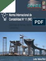 NIC 11 ISR Contrato de Construccion