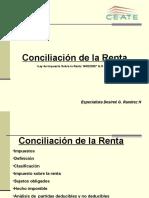 Conciliacion de La Renta