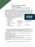 Metode Şi Tehnici de Cercetare În Marketing.