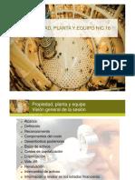 NIC - 16 Propiedad, Planta y Equipos