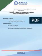 COMISIE Grant ASRMN