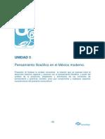 Pensamiento Filosófico en El México Moderno