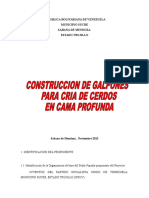 Construccion de Galpones Para La Cria de Cerdos