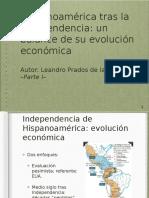 Hispanoamérica tras la Independencia - parte 1
