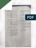 CAPE Sociology U1 2013 Paper 1