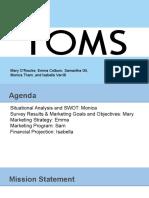 toms presentation