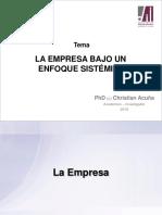 Tema I-3_La Empresa Como Un Sistema