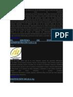 sistema de informacion administrativa