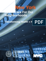 New York City Health + Hospitals report