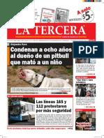 Diario La Tercera 26.04.2016