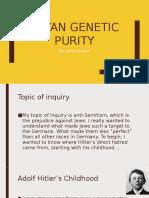 aryan genetic purity
