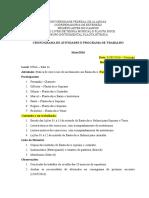 Cronograma de Trabalho - FR - Maio-2016