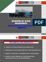 Registro Actos Registrales