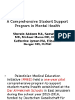 Schools Based Mental Health Program