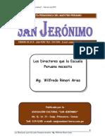 Los Directores Que La Esc Necesita Wilfredo Rimari