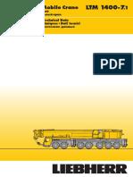 (0400 Ton) Grua Hidraulica - Liebherr LTM 1400-7.1