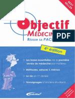 Objectif Medecine Reussir Sa PACES-2cv