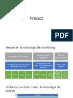 Precios Marketing Estratégico
