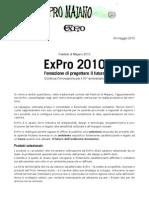 Comunicato stampa ExPro