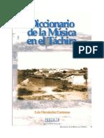 Diccionario de la Música en el Táchira