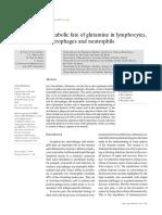 Metabolic Fate of Glutamine In