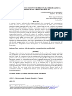 Ciclo de Negócios Um Estudo Empírico Para as Flutuações Da Economia Brasileira Entre 1992 e 2007