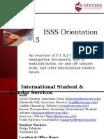 ISySS Orientation PowerPoint