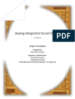 Analog Integrated Circuits -Tony Chou Carousel - ch14 solutions