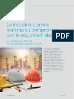 Accidentes en la industria química FEIQE