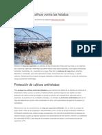 Protección de Cultivos Mecanizacion