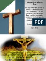 Invocación a la Santa Cruz