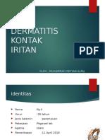 Dermatitis Kontak Iritan case report