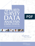 Farhat & Robb (2014) - Applied Survey Data Analysis Using Stata - The Ka...