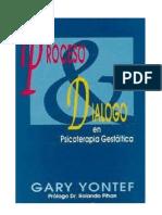 ProcesProceso y Dialogoo y Dialogo en Gestalt Gary Yontef Completo