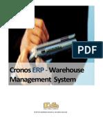Datasheet Cronos ERP - Warehouse Management SystemCronosERP WMS v1.1
