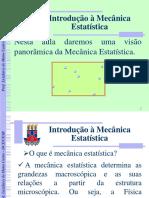 Aula 1 - Introducao a Mecanica Estatistica