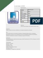 Certificado Lauril Eter Sulfato de Sodio