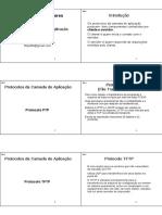 10 6pp Redes Protocolos Aplicacao
