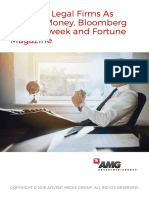 Featured Legal Services Firms in Magazines