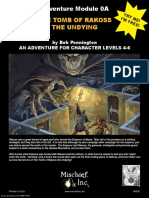0A the Tomb of Rakoss the Undying (6061750)