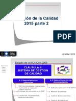 Gestion de La Calidad Unidad 1 Parte 2 JCV 2015