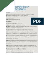 Argentina y Sus Límites