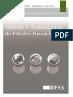 3 - Presentación de Estados Financieros