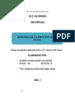 Monografìa Del Jauja