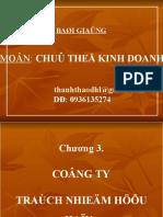 Từ Thanh thảo- Chương 3- công ty TNHH 2 thành viên trở lên