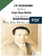 COMO PA' DESENGUAYABAR. Bambuco. Jorge Olaya M. Transc. piano Gerardo Betancourt.