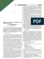 R.M. 021-2016-MINSA PERFIL MEDICO OCUPACIONAL